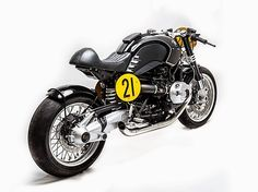 BMW R NineT Cafe Racer by Officine Sbrannetti #motorcycles #caferacer #motos | caferacerpasion.com