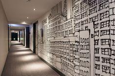 Radisson Blu Aqua Hotel Chicago Hallway