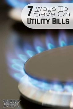 Our homes consume a lot of energy, but there are ways to reduce our consumption and reduce our utility bill each month. Here are 7 ways to reduce your bill. #utilitybills