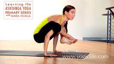 Ashtanga Yoga Primary Series: Learning Bhujapidasana with Maria Villella