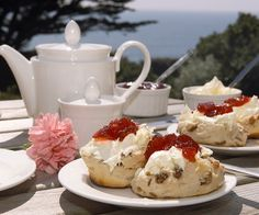 Cornish Cream Tea a must have!