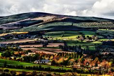 Sugarloaf Mountain County Wicklow, Ireland