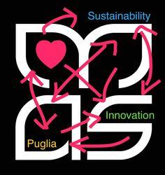 #Heart = #Puglia + #Sustainability + #Innovation #Sustainability + #Innovation + #Heart = #Puglia  #ModernApulianStyle www.modernapulianstyle.com