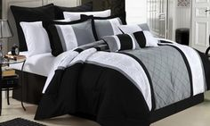 Groupon - Chic Home Boltonia Oversized and Overfilled Comforter Set (8-Piece). Groupon deal price: $79.99