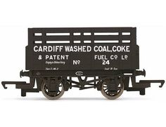 The Hornby Cardiff Washed Coal Coke Wagon, in the range of Hornby Wagons accurately recreates the real life wagon.