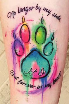 Check out... ❤🐾 PurrLux.com 🐾❤ For cat accessories and cat themed merchandise. Memorial Tattoo Quotes, Dog Memorial Tattoos, Dog Tattoos, Animal Tattoos, Dog Pawprint Tattoo, Body Art Tattoos, Tatoos, Bulldog Tattoo, Writing Tattoos
