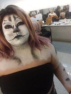 Morgue Photos, Halloween Face Makeup
