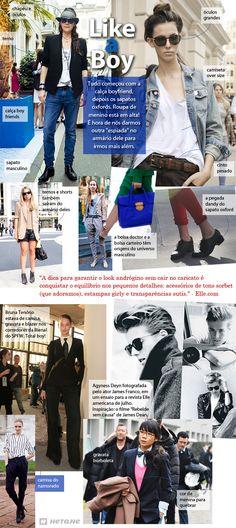 Like a Boy - Conteúdo criado para o blog da marca de calçados Hetane.