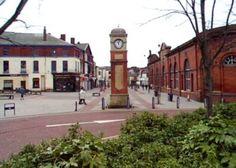 Market clock in Ashton-under-lyne, UK.  My hometown :)
