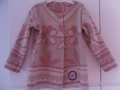 Jas of vest dekenjasje van vintage deken, mt. 116 von MORETHANVINTAGE auf DaWanda.com