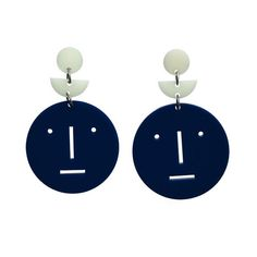 From Boom Boom with love - Small selection, strong personality ! Strong Personality, Face Earrings, Chunky Jewelry, I Shop, Creations, Ceiling Lights, Boom Boom, Navy, My Style