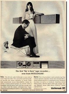 1967 Wollensak tape recorder ad