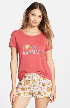 Free shipping and returns on BP. Undercover Graphic Sleep Set (Juniors) at Nordstrom.com. Sweet, soft and a little silly, this sleep set does the wise-crackin' for you. A graphic tee is paired with printed shorts, ready to cover your lounging from here to the weekend and back.