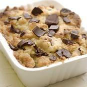 Crumble poire chocolat et noisettes - une recette Américain - Cuisine