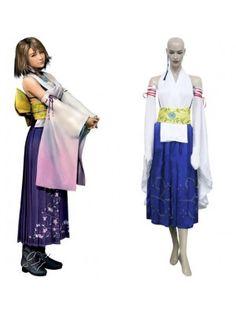 Final Fantasy X Yuna Halloween Costumes Cosplay