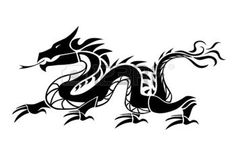 dessins chinois: Dragon