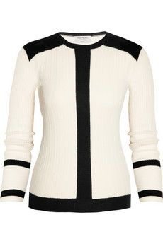 Yves Saint Laurent  Knitted cashmere and silk-blend sweater