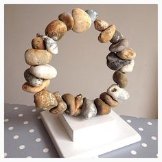 www.facebook.com/littlebirdarts - available to buy from Little Bird Arts via facebook - VERY UNUSUAL Hag Stone Circle - Made to Order - £19.99 xXx