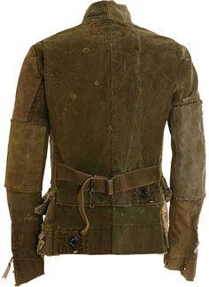 Greg Lauren Duffle Bag Coat in Green for Men (army) - Lyst, back side