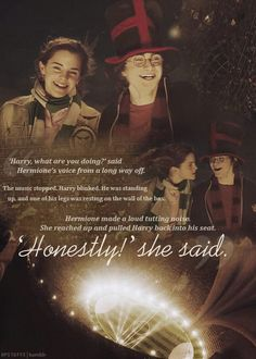 Harry and Hermione, Friends for life!