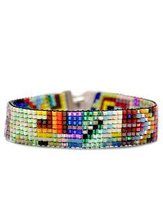 Thin Beaded Bracelet- Julie Rofman