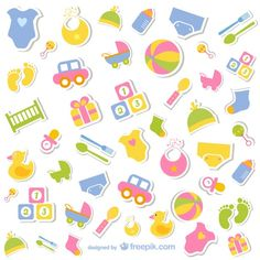 Baby Icons Free Collection, Free For Download And Use