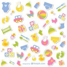 """<a href=""""http://www.freepik.es/vector-gratis/coleccion-de-iconos-de-bebe_722468.htm"""">Diseñado por Freepik</a>"""