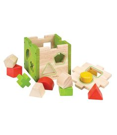 EverEarth Shape Sorter Box assists learning about different shapes, developes fine motor skills & spacial recognition. Made from sustainable beech wood. Wooden Educational Toys, Educational Toys For Toddlers, Cubes, Toddler Toys, Kids Toys, Monster Shapes, First Birthday Presents, 2nd Birthday, Wooden Toy Boxes
