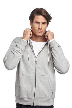 ecru zip hoodie | Cotton On