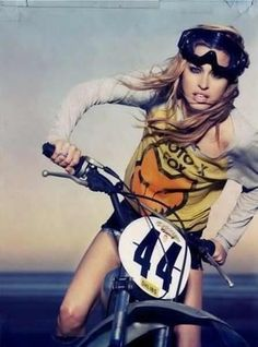 Buy a dirt bike! :). Ok sorry sweetie but girls wear riding gear to ride not daisy dukes....