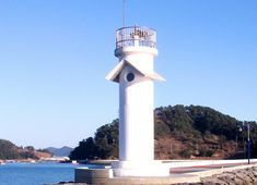 Lighthouses of South Korea: Tongyeong Area, Hangnim Hang
