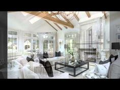 (6) Kim Kardashian and Kanye West's Mansion House - Home Art Design Decorations - YouTube