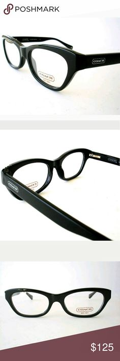 Coach Eyeglasses New  51-18-145 Case included Coach Accessories Glasses