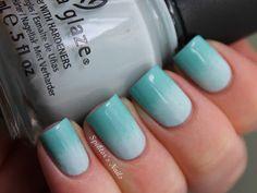 Spektor's Nails: Minty Gradient Nails