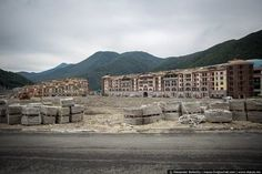 Post-Olympics, Sochi Already Looks Like an Eerie 'Wasteland' - Ghost Towns - Curbed National