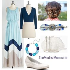 Headed to the Wedding - The Modest Mom