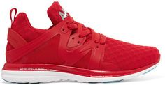 Athletic Propulsion Labs - Ascend Mesh And Rubber Sneakers - Red