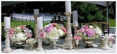 Beautiful floral tablescape!!