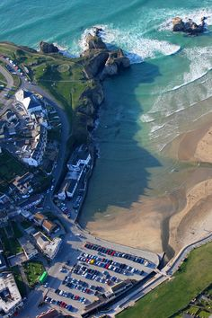 Perranporth, Cornwall l UK Beautiful Places To Visit, Beautiful Beaches, Beautiful World, Places To See, Devon And Cornwall, North Cornwall, North Wales, Seaside Towns, British Isles