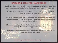 Ramadan is a time for brands to enhance their reputation among customers rather than make direct sales. #businessTips #marketers #entrepreneur #career #socialmedia #careertips #entrepreneurtips #startup #dressing #dubai #mydubai #expo2020 #marketingtips #GCC #uae #businessnetworking #business #advertising #tips #gccbusinesscouncil  #bsuinessEtiquette #professionals