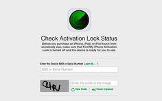 Apple lança ferramenta on-line que verifica se um iPhone é roubado - http://showmetech.band.uol.com.br/apple-lanca-ferramenta-line-que-verifica-se-um-iphone-e-roubado/