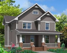 THIS CRAFTSMANS STYLE TWO STORY EVOKES A HISTORIC FLAIR ON THE EXTERIOR WITH ALL THE MODERN CONVENIENCES INSIDE.
