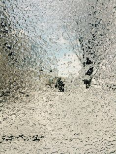 My iced window