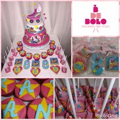 Cake Pops, Son Luna, Cake Decorating, Happy Birthday, Disney Channel, Desserts, Cakes, Wafer Cookies, Recipes