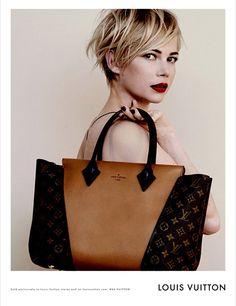 Michelle Williams, égérie Louis Vuitton pour l'automne/hiver 2013/2014 | Glamour