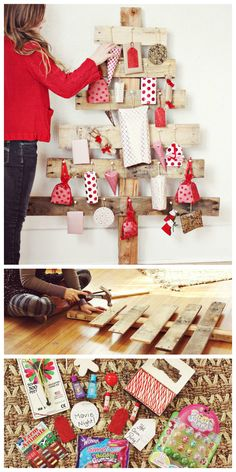 Diy advent calendar christmas crafts pinterest advent diy advent tree solutioingenieria