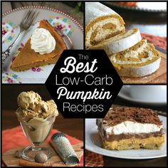 Simply the best low carb pumpkin recipes the internet has to offer. From bread to cookies to cake! LCHF Keto Banting THM recipes.  via @dreamaboutfood