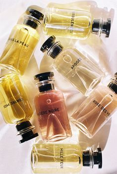 Louis Vuitton's 7 Devastatingly Chic Perfumes Will Send You to Fragrance Heave. - Different and Beautiful Ideas Chic Perfume, Perfume Kenzo, Perfume Glamour, Perfume Parfum, Perfume Hermes, Perfume Lady Million, Fragrance, Beauty, Makeup