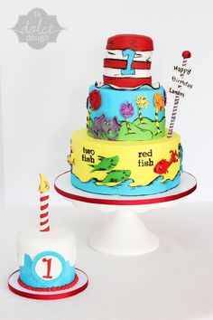 Dr. Seuss Birthday Cakes... I wish my parents did this for my birthday