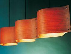 Chandeliers Wood Veneer
